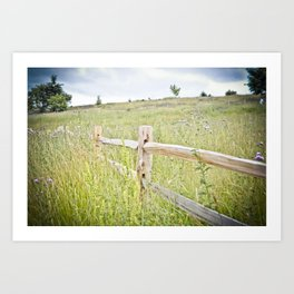 powell butte Art Print