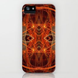 Starship Andromeda - Hyperspace iPhone Case