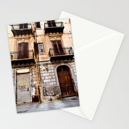 Abandoned Sound of Sicily Stationery Cards