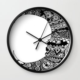 Fly me to the moon and back  Wall Clock