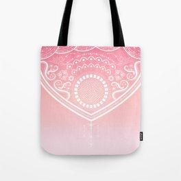 Bohemian Ornamental Pink Tote Bag