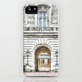 Buckingham Palace Snow iPhone Case