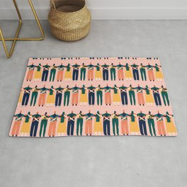 Sisters around the world Rug