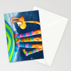 Striped Socks - Revisited Stationery Cards