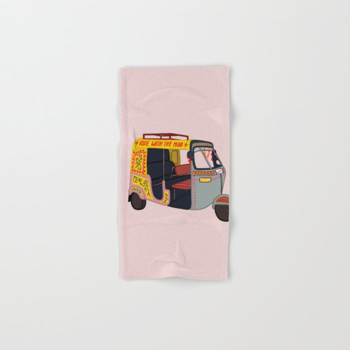Ride with the Mob Hand & Bath Towel
