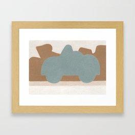 Deep in Moab Framed Art Print