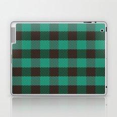 Pixel Plaid - Glacier Melt Laptop & iPad Skin