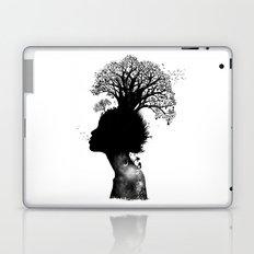Natural Black Woman Laptop & iPad Skin
