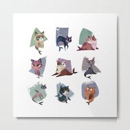 Mercats Metal Print