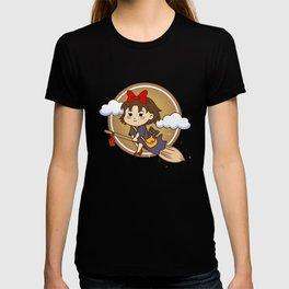 Kiki Flying Brown T-shirt