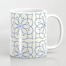 Fashion Flower Pattern Art Print Coffee Mug