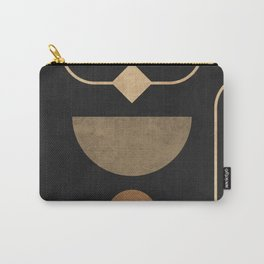 Subtle Opulence - Minimal Geometric Abstract 2 Carry-All Pouch