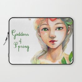 Goddess of  Spring Laptop Sleeve