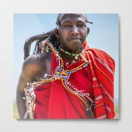 People of Kenya - 14 Metal Print