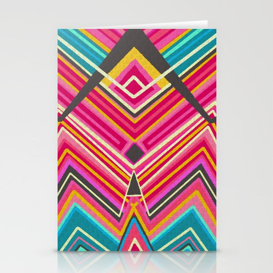 picchu pink Stationery Cards