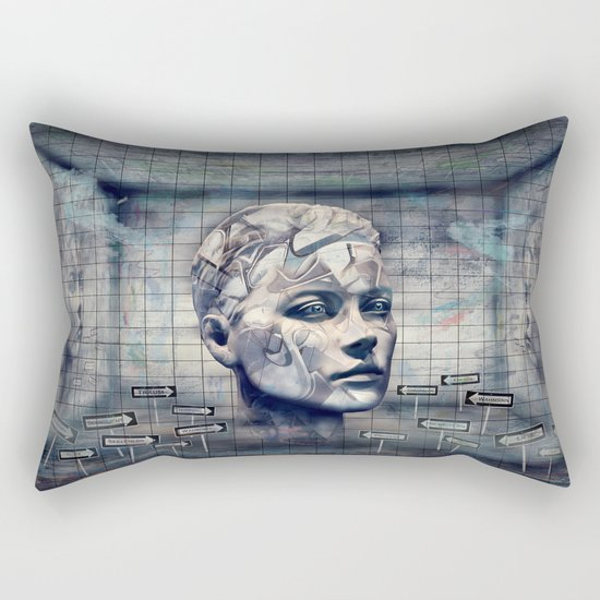 Phasenspektrum Rectangular Pillow