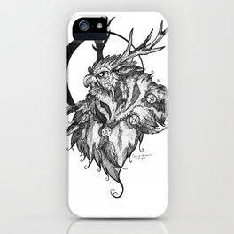 Ink Moonkin iPhone Case