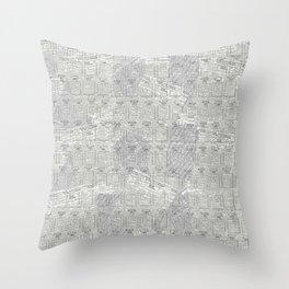 Brand Pattern Throw Pillow