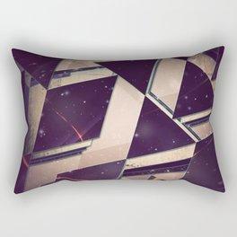 Aztec Abstract Triangle Pattern Rectangular Pillow