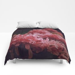 Pink Bellingrath Floral Comforters