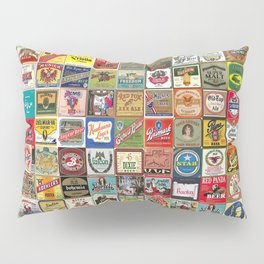 Beer Montage Pillow Sham