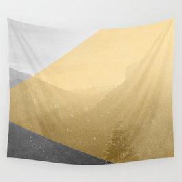 NEON NATURE | Orange Wall Tapestry