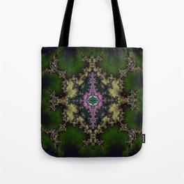 Fractal Hexagon Tote Bag