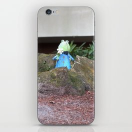 Mr frog iPhone Skin