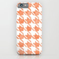 Watercolor Houndstooth iPhone 6s Slim Case