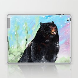 Animal - Courage of a Bear - by LiliFlore Laptop & iPad Skin