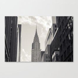 The Chrystler Building Canvas Print