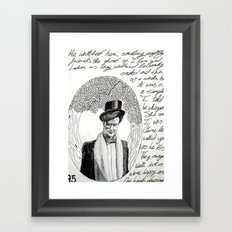Part #3 - One Heart Dancing Framed Art Print