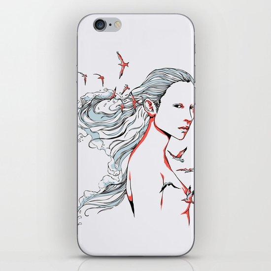 Queen of Ocean iPhone Skin