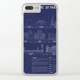 The Architecture of Pakistan Clear iPhone Case