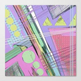 Snip Canvas Print