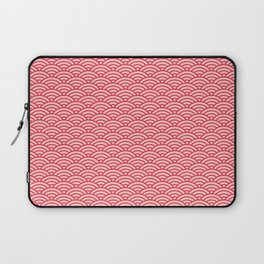 Japanese Sakura Koinobori Fish Scale Pattern Laptop Sleeve