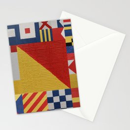 Signaling O Flag Stationery Cards