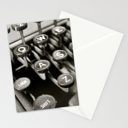 Typing Yesterday Stationery Cards