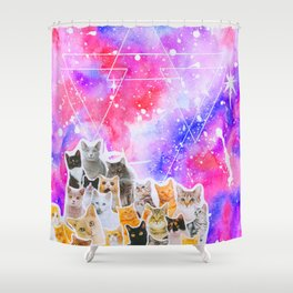 Catsplosion Shower Curtain