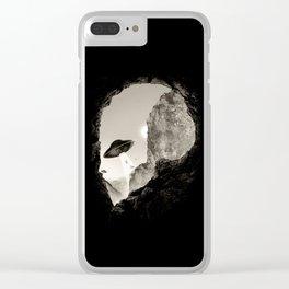 Alien´s Head Clear iPhone Case
