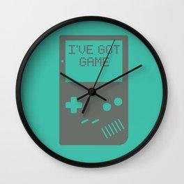 I've got Game, Boy. Wall Clock