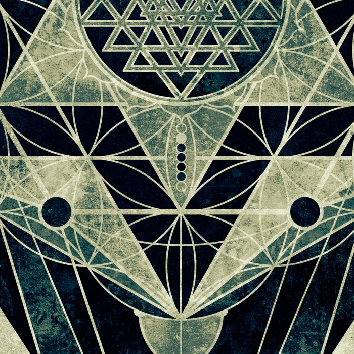 Sacred Geometry for your daily life- SRI YANTRA Leggings
