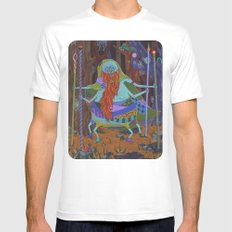 The Spider Wizard White MEDIUM Mens Fitted Tee