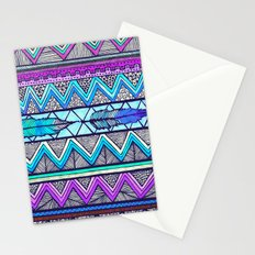Two Feathers (color version 3) Stationery Cards