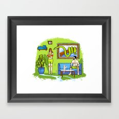 Not The Garden Of Eden Framed Art Print