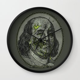 BENJAMIN FREAKLIN Wall Clock