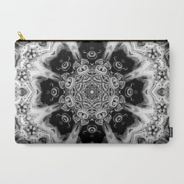 Black-and-White Abstract 56 Carry-All Pouch
