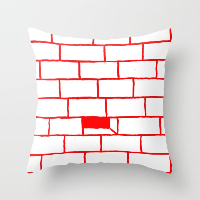 Bricks Throw Pillow By Mattscobey Society6