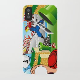 WHAT IF ..aka mushroom kingdom. iPhone Case