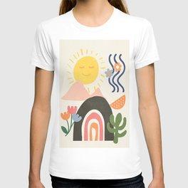 Abstract Summer 7 T-shirt